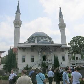 Sehitlik mosque. Berlin, May 2014.