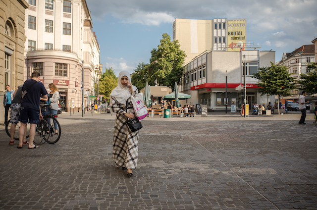 Few German cities are as emblematic of the country's growing diversity as Berlin. Neukölln, July 2016.