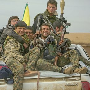 YPG fighters. Syria, February 2015.