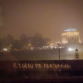 Jesus is coming. Torino, January 2012.