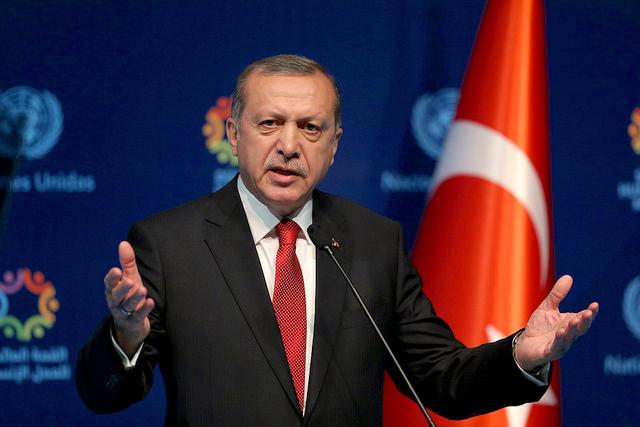 Recep Tayyip Erdogan. World Humanitarian Summit, May 2016.