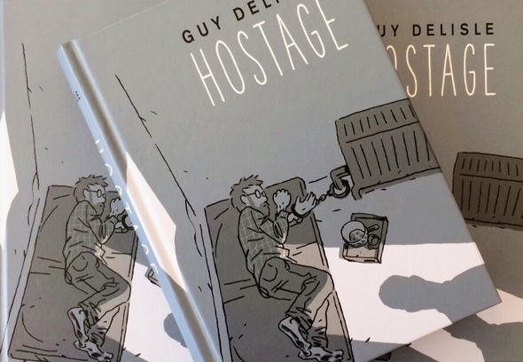 Cover of Guy Delisle's Graphic Novel Hostage
