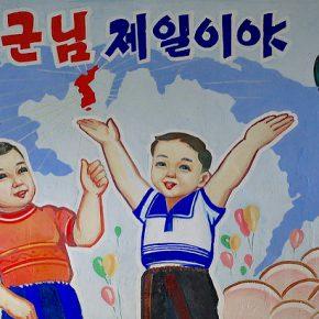 Community mural. Chongsan Co-op, 2008.