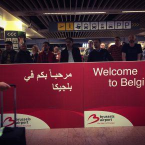 Zaventem Airport. Brussels, September 2017.